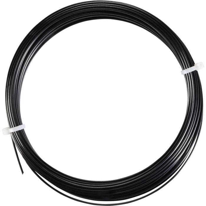 CORDAGE DE TENNIS MONOFILAMENT BLACK CODE 1.28mm NOIR - 1250218