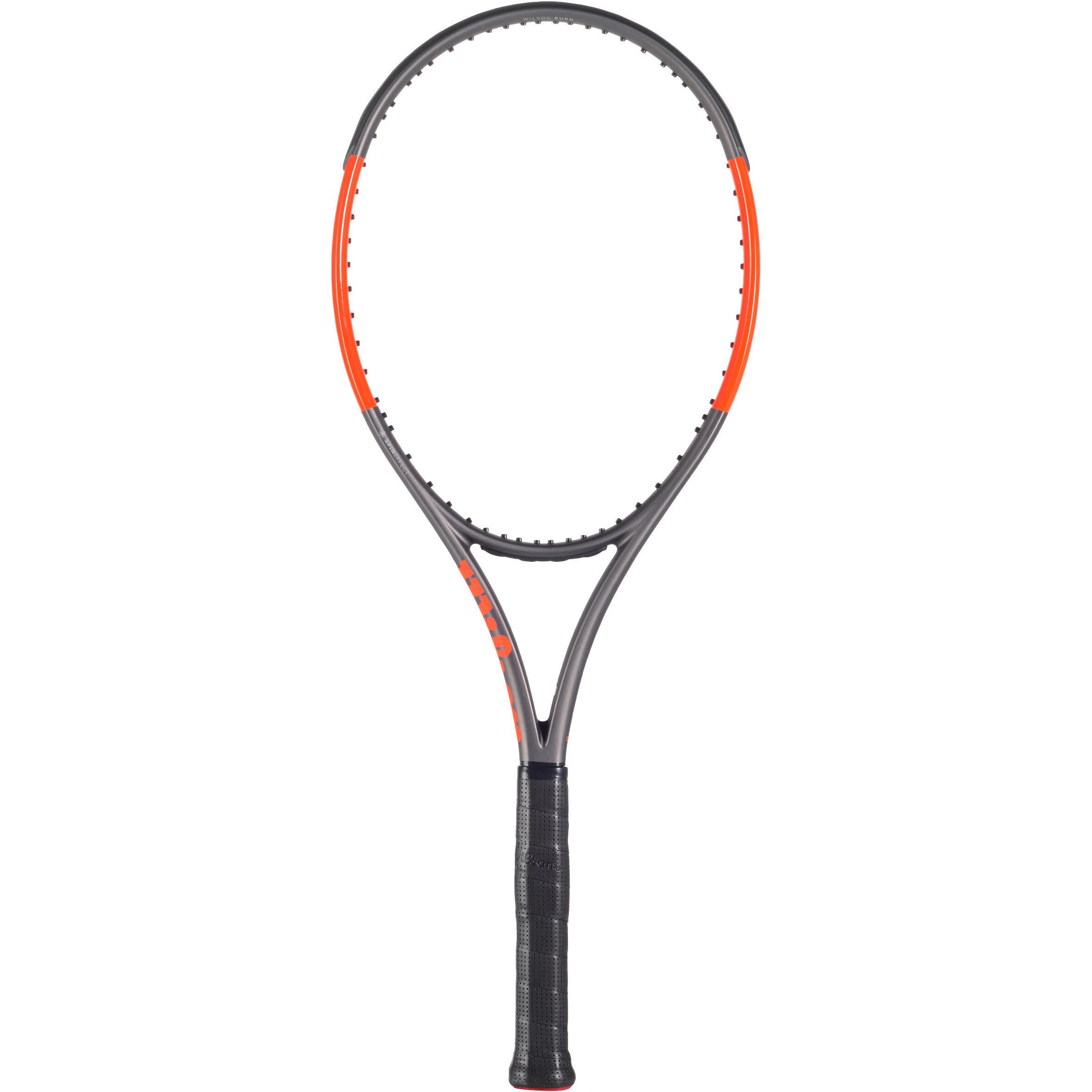 Wilson Tennisracket Wilson Burn 100 ULS grijs oranje