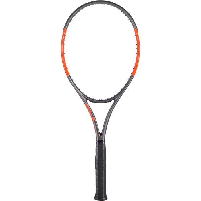 RAQUETTE DE TENNIS WILSON BURN 100 LS GRIS ORANGE - 1250225