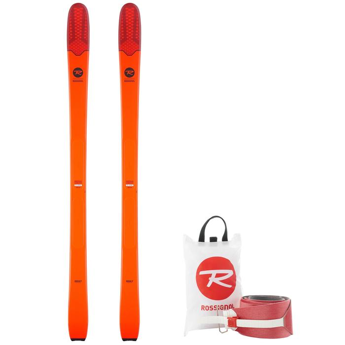 PACK SKIS DE RANDONNEE ROSSIGNOL SEEK 7 + PEAUX - 1250325