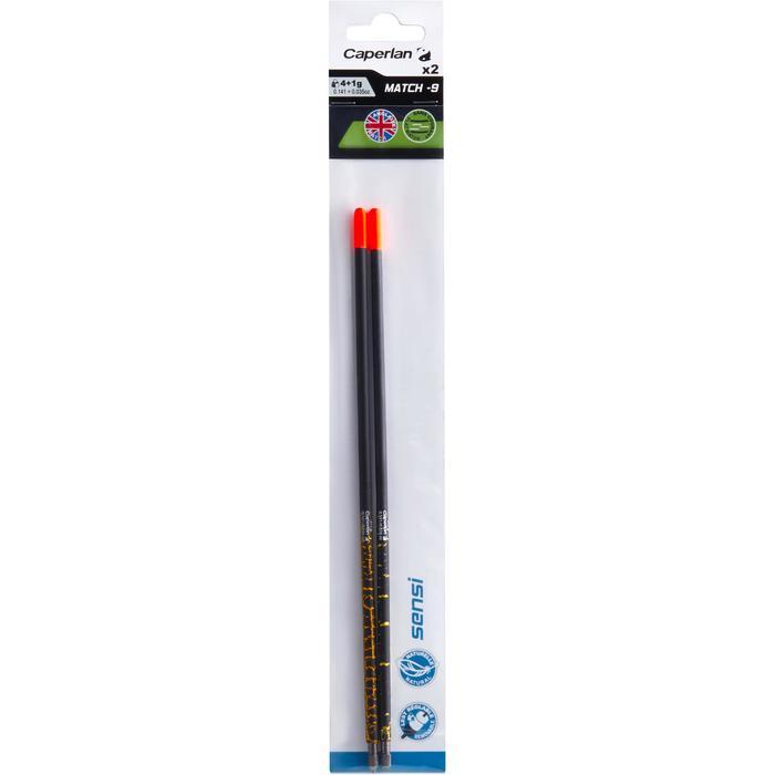 Dobber voor matchhengelen Sensi-9 4+1 g