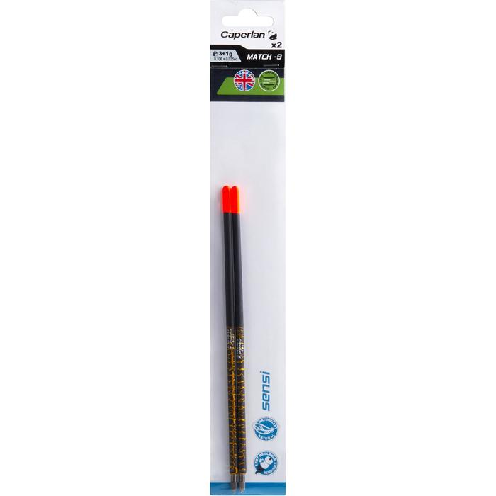 Dobber voor matchvissen Sensi-9 3+1 g