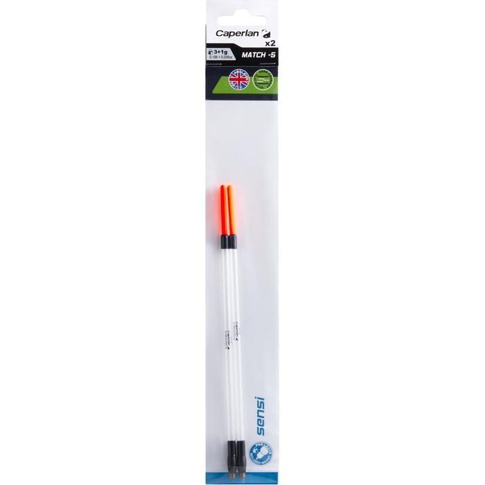 Dobber voor matchhengelen Sensi-5 3+1 g