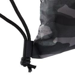 Mochila de cuerda Cardio Fitness Domyos calzado negro verde