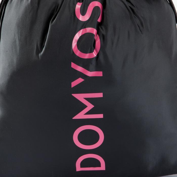 Opvouwbare schoenenzak voor de fitness zwart en roze