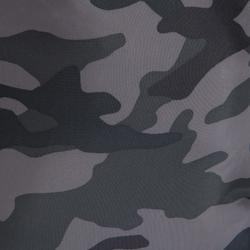 Mochila de cuerda calzado Cardio Fitness Domyos negro camuflaje