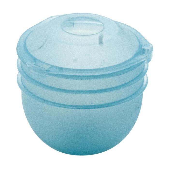 Anfüttermittelbehälter Ultralite 3 Stück Stippangeln