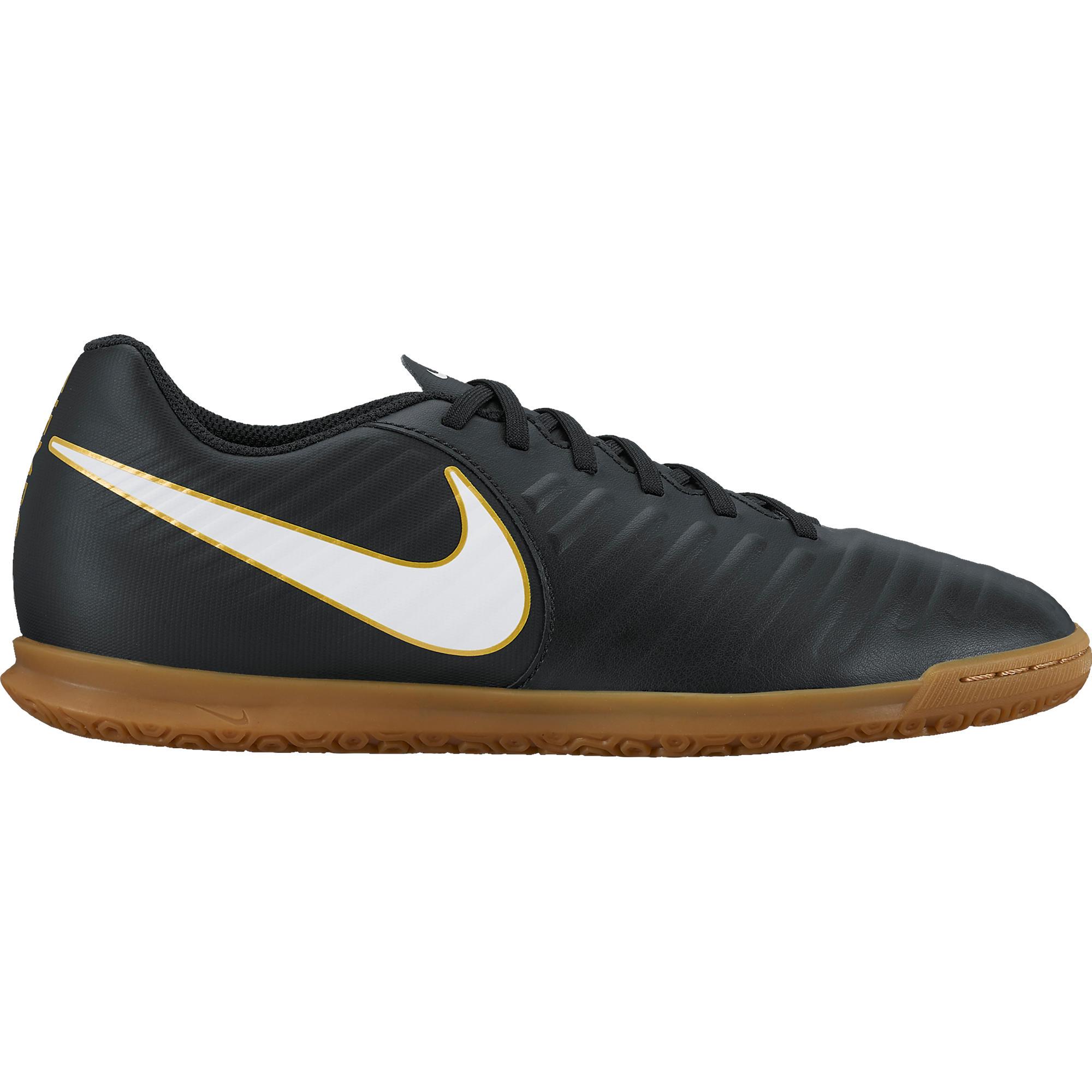 Nike Zaalvoetbalschoenen Tiempo X Rio volwassenen zwart