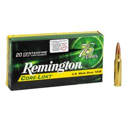 Munitions 300 WM Core Lokt PSP 180G X20