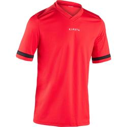 Camiseta rugby adulto R100 rojo