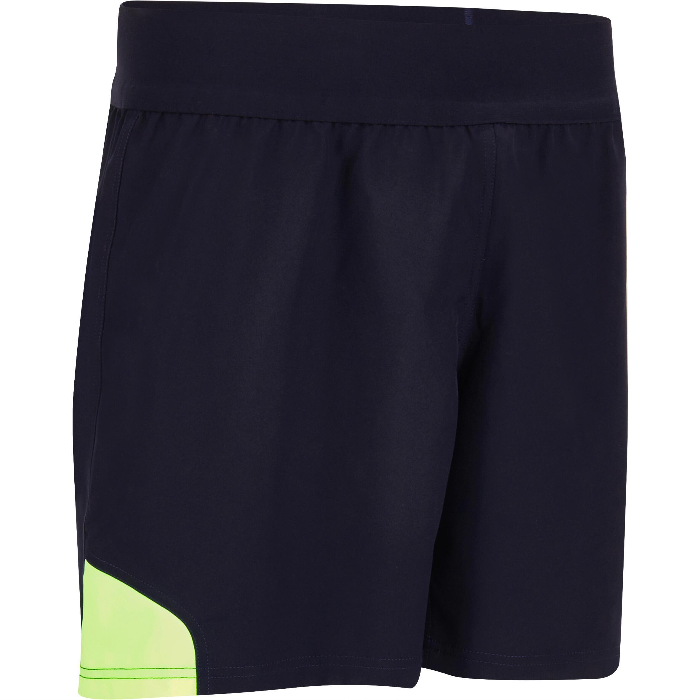 Rugbyshorts R500 Herren blau/gelb | Sportbekleidung > Sporthosen > Sportshorts | Blau - Gelb | Offload