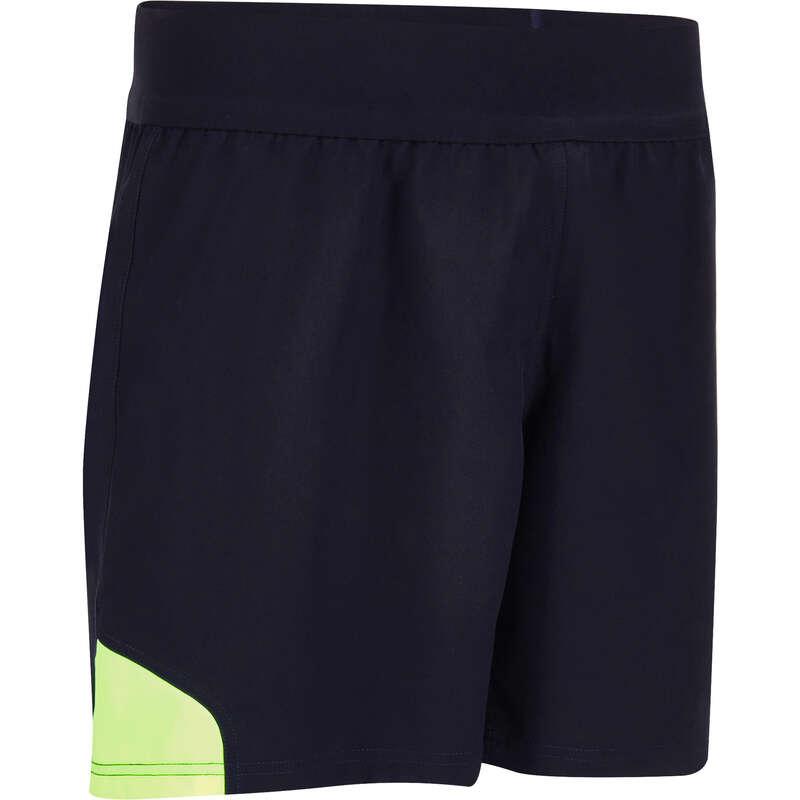 KLÄDER FÖR RUGBY Lagsport - Shorts R500 herr blå gul OFFLOAD - Rugby