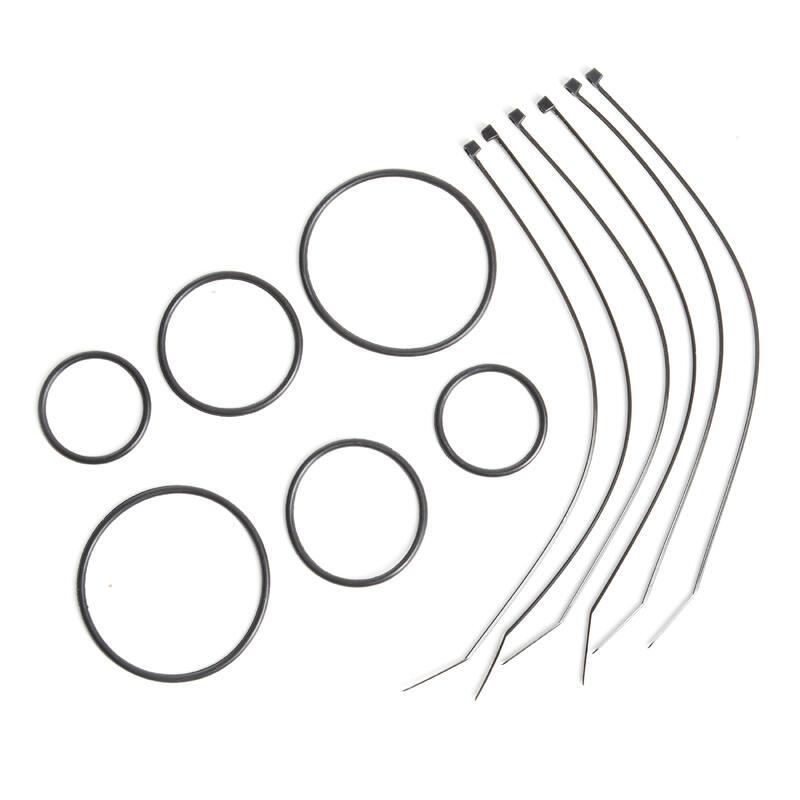 Universele set bevestigingen voor fietscomputer