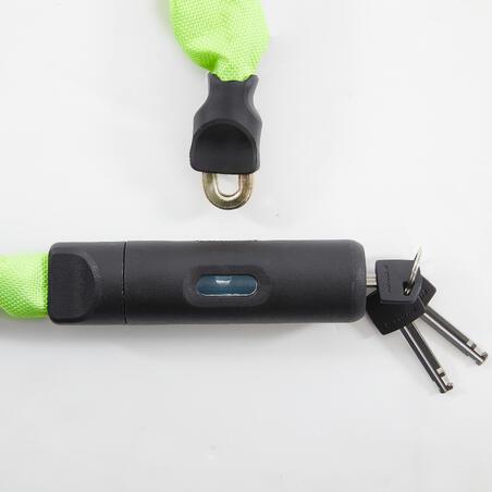 Bike Chain Lock 500 - Yellow