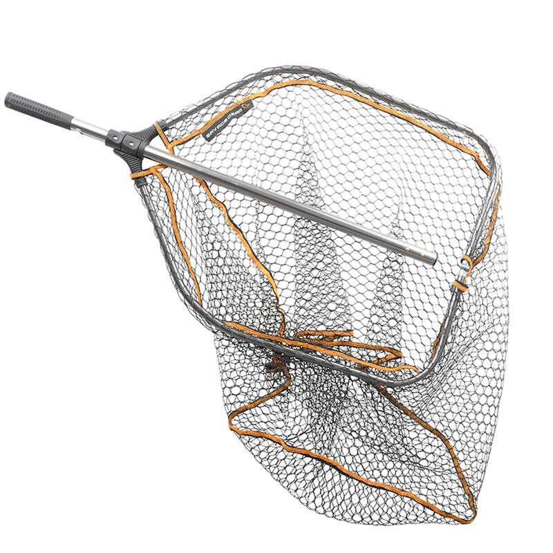 BELLY BOAT Pesca - Guadino PRO FOLDING RUBBER NET NO BRAND - PESCA AI PREDATORI