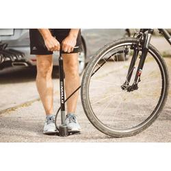 Bomba Pie Ciclismo Btwin 900 Negro Con Manómetro