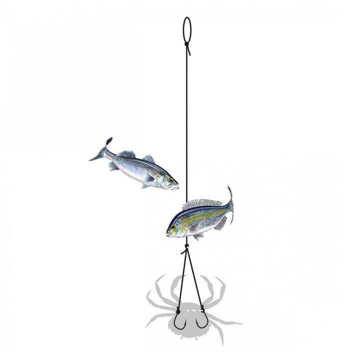 Krab- of wishbone-montage voor zeevissen 2H nr. 2