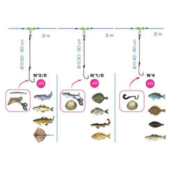 Ligne de palangre mix 20 pêche en mer