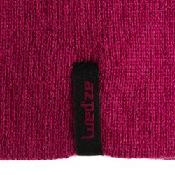 SKIING REVERSE HAT PINK RED.