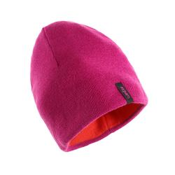 REVERSIBLE RED PURPLE SKI HAT