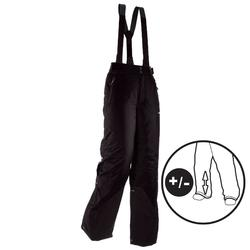 BOYS' 300 PULL 'N FIT BLACK SKI TROUSERS