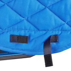 Schabracke 580 Pony/Pferd electric-blau