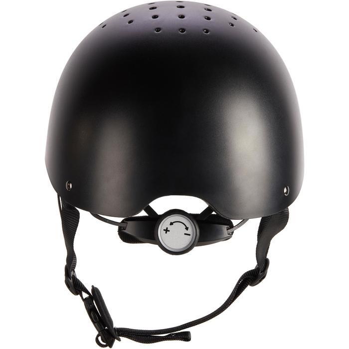 Casque d'équitation C100 noir - 1251236