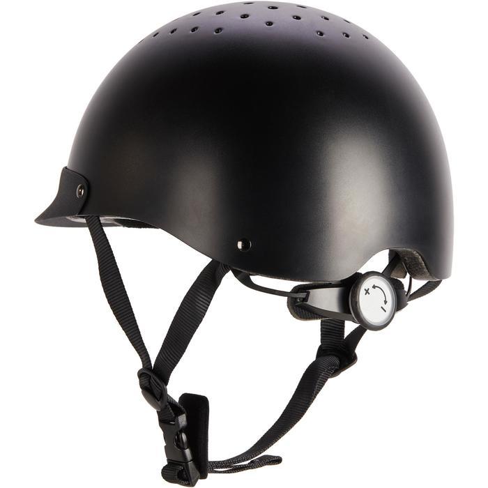 Casque d'équitation C100 noir - 1251238