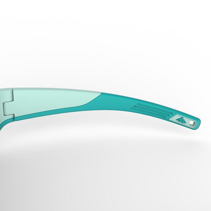 Lunettes de soleil randonnée enfant 9-11 ans MH T 900 turquoise catégorie 4