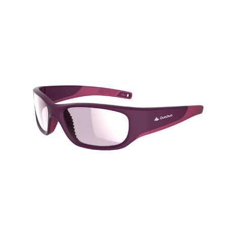 Children's Hiking Sunglasses Ages 9-11 Category 4 MH T550 - Purple