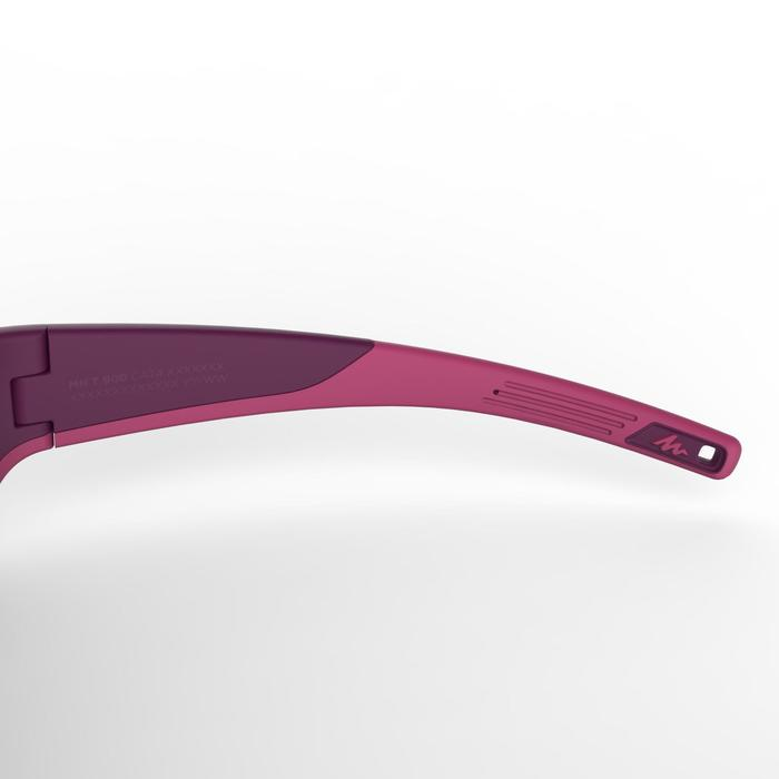Wandelzonnebril voor kinderen 9-11 jaar MH T550 paars categorie 4