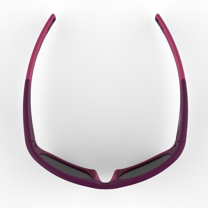 Gafas de sol de senderismo júnior 9-11 años MH T550 violeta categoría 4
