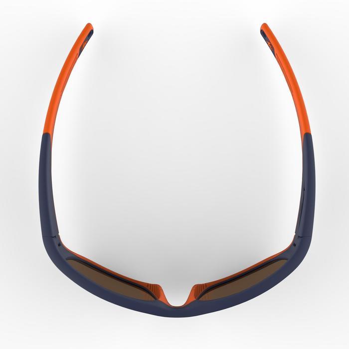 Gafas de sol de senderismo niños de 9-11 años MH T 900 azules cat 4 polarizadas
