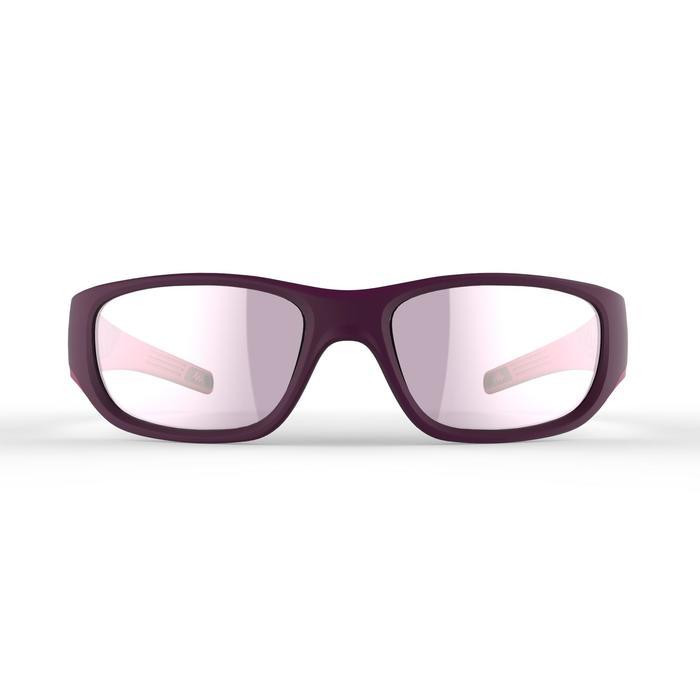 Lunettes de soleil randonnée enfant 9-11 ans MH T 900 violettes catégorie 4 - 1251258