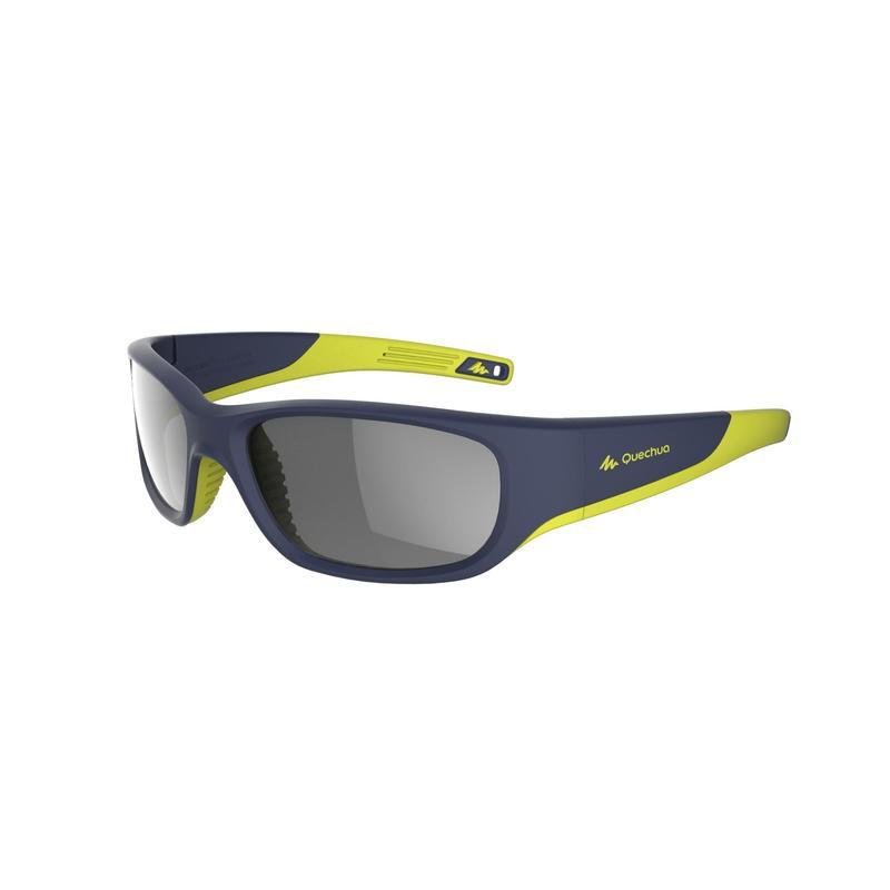 Kid's Hiking Sunglasses (Age 9-11 years) MHT550 Category 4 - Blue