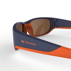 Gafas de sol de senderismo júnior 9-11 años MH T550 azul polarizadas categoría 4