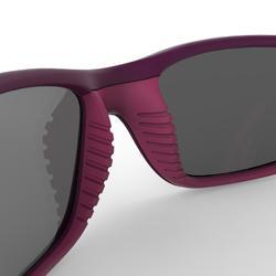Sonnenbrille Wandern MH550 Kategorie 4 Kinder 9-11 Jahre violett