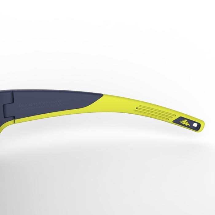 Gafas de sol de senderismo júnior 9-11 años MH T550 azul categoría 4