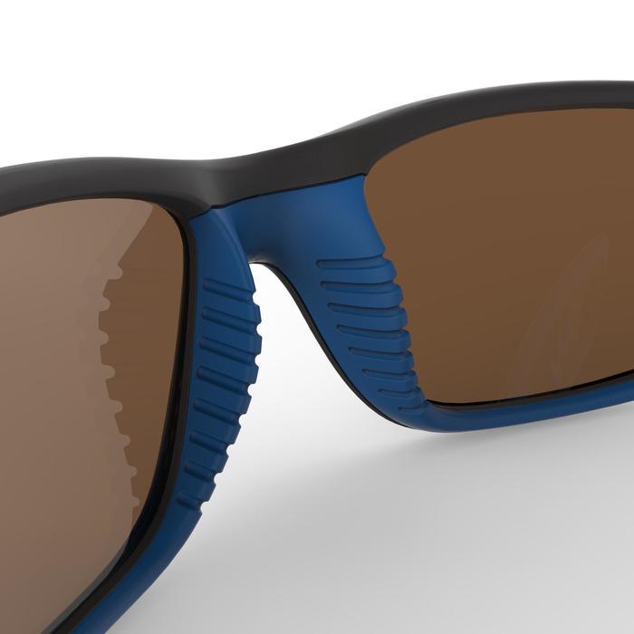 Zonnebril trekking voor kinderen 9-11 jaar MH T 900 blauw / zwart categorie 4