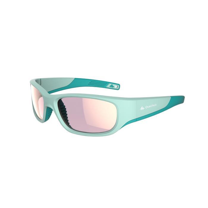 Gafas de sol de senderismo niños 9-11 años MH T 900 turquesa categoría 4