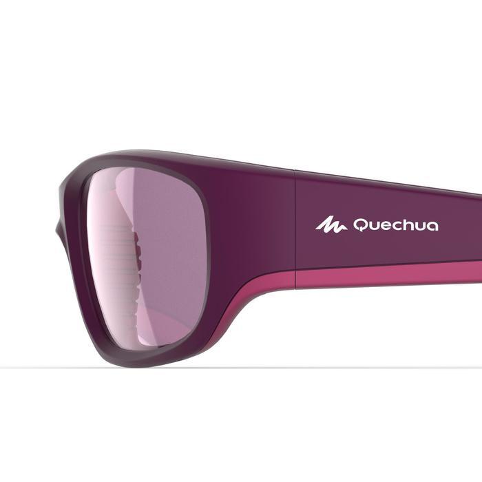 Gafas de sol de senderismo niños de 9-11 años MH T 900 violeta categoría 4