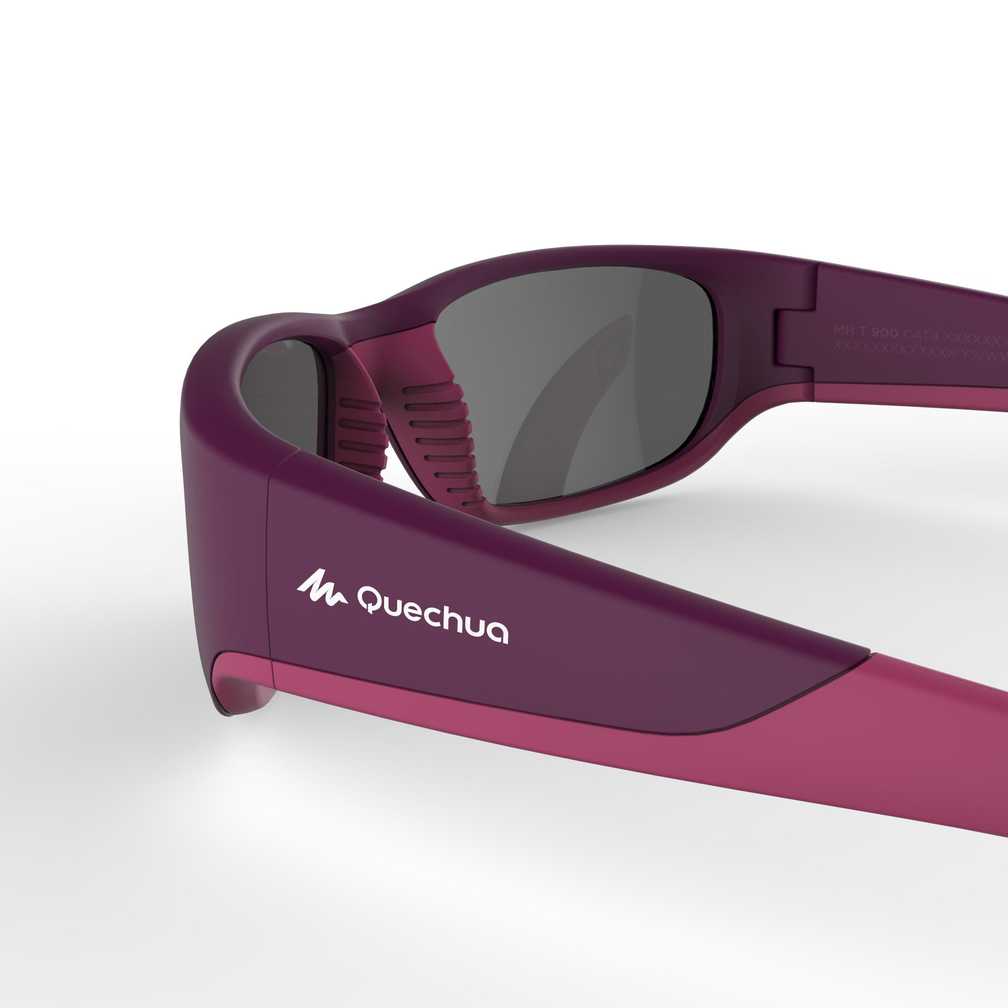 MH T550 Children's Hiking Sunglasses Ages 9-11 Category 4 - Purple