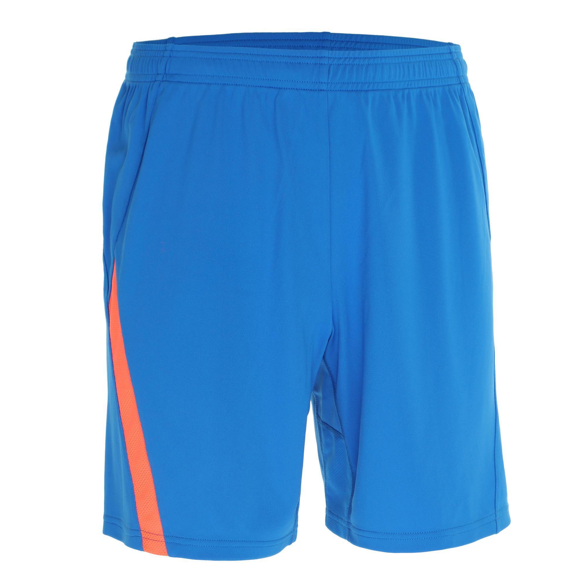 Artengo Badmintonshort 830 voor heren blauw oranje