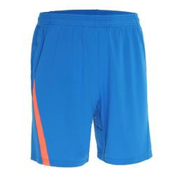 Badmintonshort 830 voor heren blauw oranje