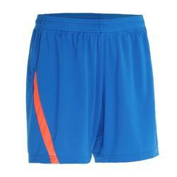 830 Women's Badminton Shorts - Blue/Orange