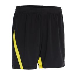 830 Women's Badminton Shorts - Black/Yellow