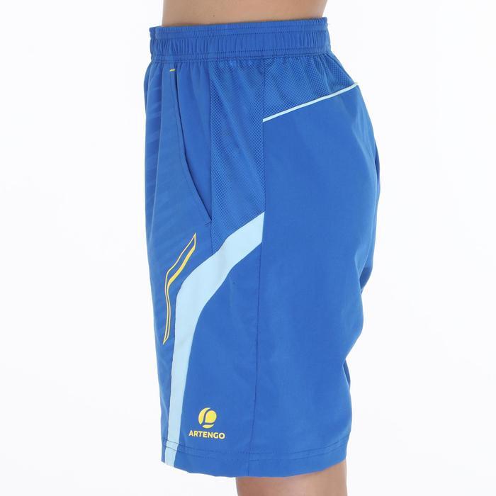 Badmintonshort 860 voor kinderen lichtblauw