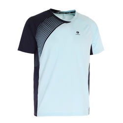 830 Badminton T-Shirt - Blue/Orange