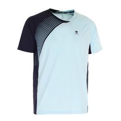 830 Badminton T-Shirt - Blue/Orange