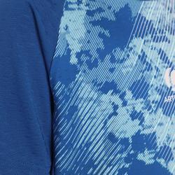 Badmintonshirt 860 Dry voor kinderen lichtblauw